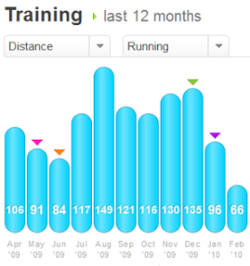 Training Update – The Past 12 Months