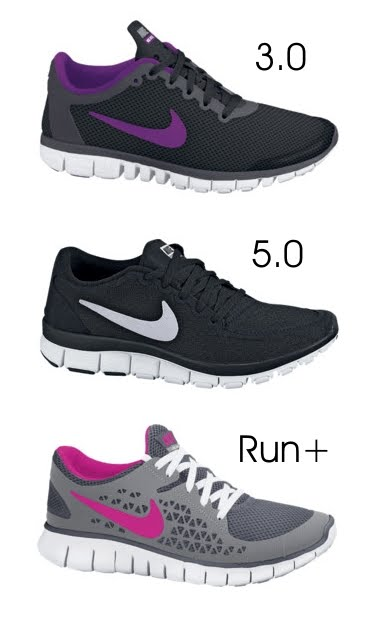 nike free run comparison