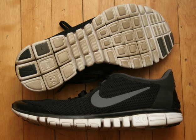 Review of the Nike Free 3.0 as a Transitional Minimalist Shoe