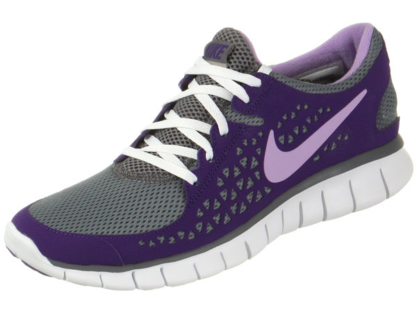 nike free run+ purple and white bedroom