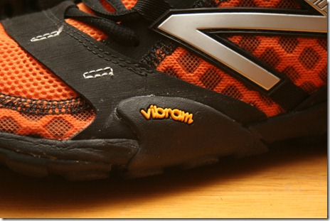 Minimus Trail Vibram Outsole Logo