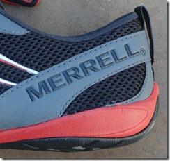 Merrell Trail Glove Heel