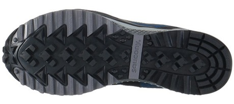 Saucony Peregrine Outsole