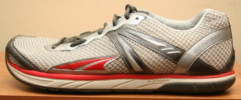 Altra Instinct Running Shoe Review Zero Drop Foot Shaped And Cushioned
