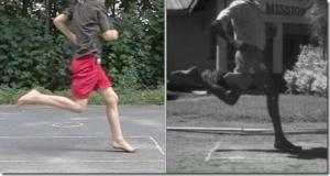 Barefoot Running Form in My Kids: Photos of Foot Strikes