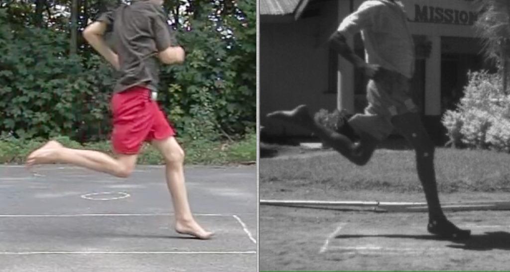 Running Shoes Barefoot Running