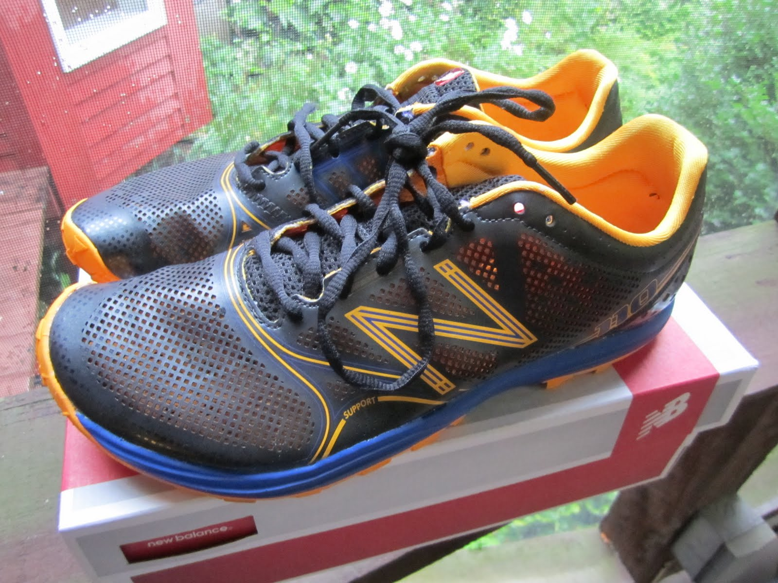 new balance running course shoe review