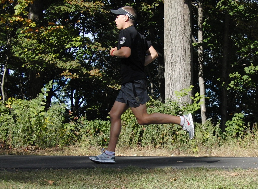 Does a short faster stride get you somewhere further than a long slower stride?