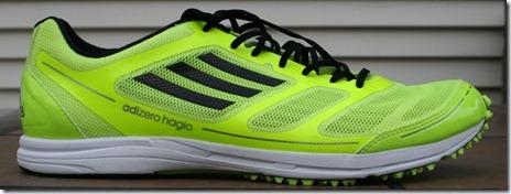 Adidas Adizero Hagio  Mens Shoes Black White Infrared