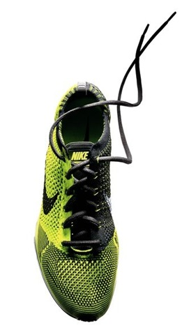 Nike Flyknit Running Shoes Black