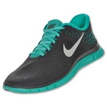 Nike Free 4.0 v2 black blue