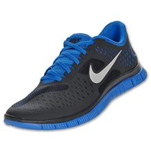 Nike Free 4.0 v2 black royal blue