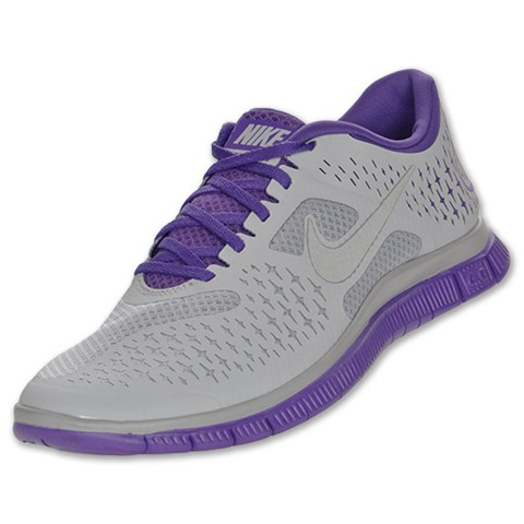 Nike Purple And Green Tennis Shoes