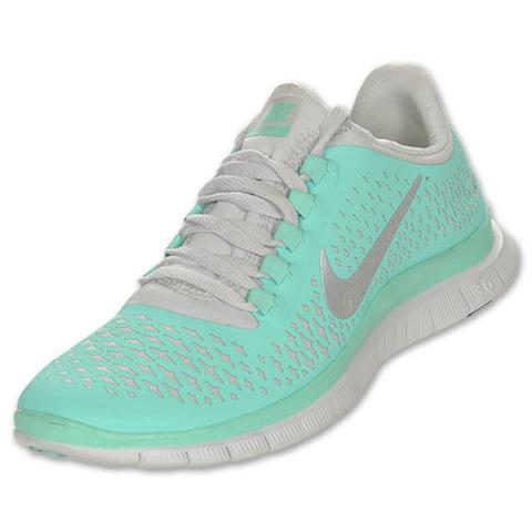 Asics Mint Green Running Shoes