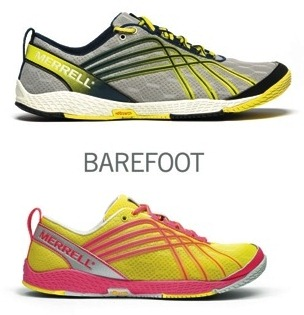 Merrell M Connect Series Barefoot Running Shoes