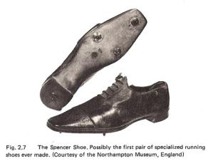 "Lord Spencer's Shoes: The First ""Specialized"" Running Shoes Ever Made (from 1865)"
