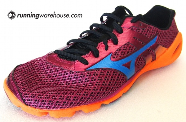 Mizuno Running Shoes Grey And Pink