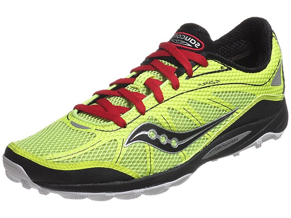 saucony kinvara trail running shoes off