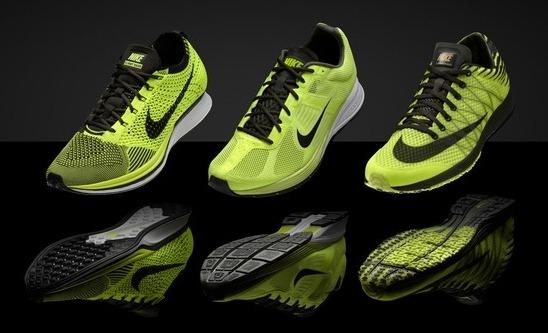 Nike Shoes Yellow Free Runs