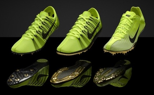Nike Neon Yellow And Blue Shoes