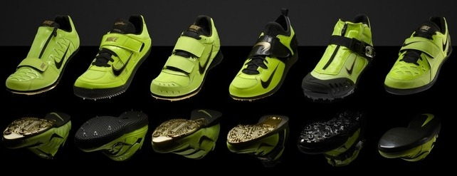 Nike Yellow Neon Running Shoes