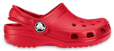 Red Kid's Crocs