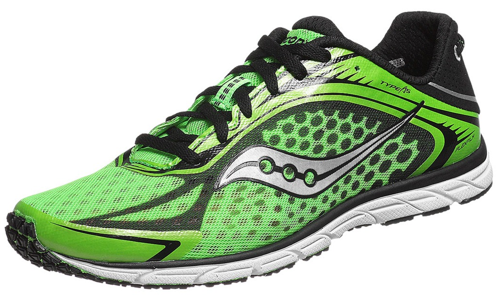 Saucony Lime Green Running Shoes