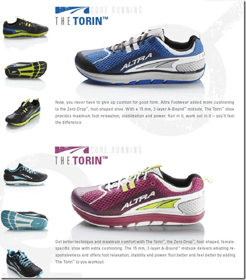 Torin Catalog Page