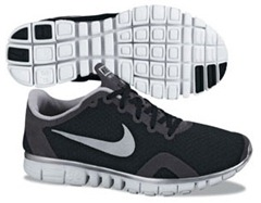 Barefoot Running Mechanics are Different than Running in Nike Free, Nike Lunaracer 2, Standard Shoes