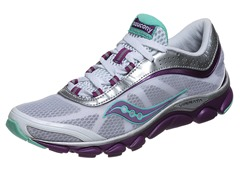 Purple Mizuno Running Shoes