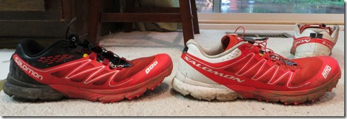 Salomon Sense Compare 1