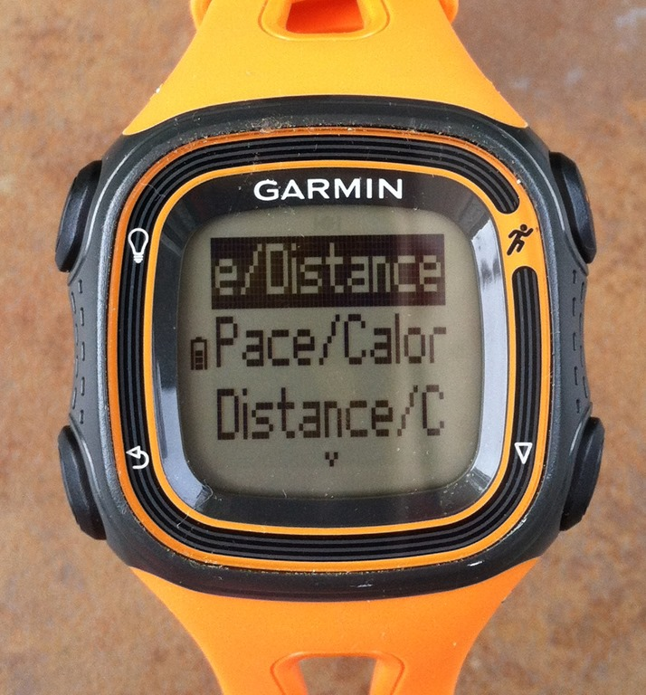 garmin forerunner 10 display problem. Black Bedroom Furniture Sets. Home Design Ideas