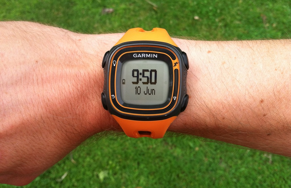 Garmin Forerunner 10 GPS Watch Black Orange