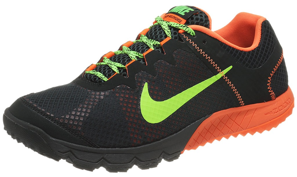 Nike Trail Running Shoes Grey And Green