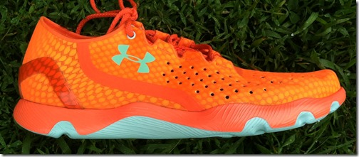 Under Armour Speedform Orange lateral
