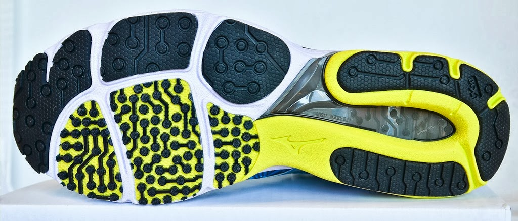Tennis Shoes Outsole Worn
