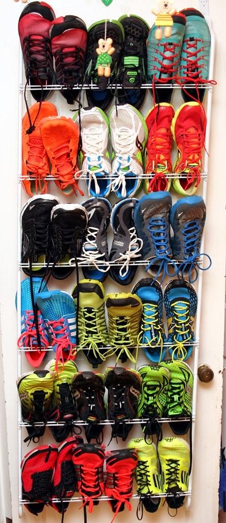 Shoe Rack Running Shoes