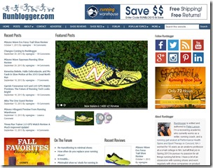 Runblogger Homepage