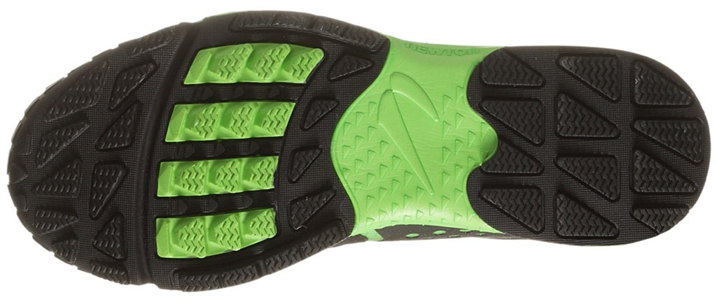 Running Shoes Leaf Green