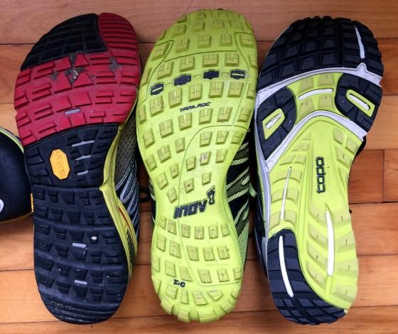 3 Shoes Compare Soles