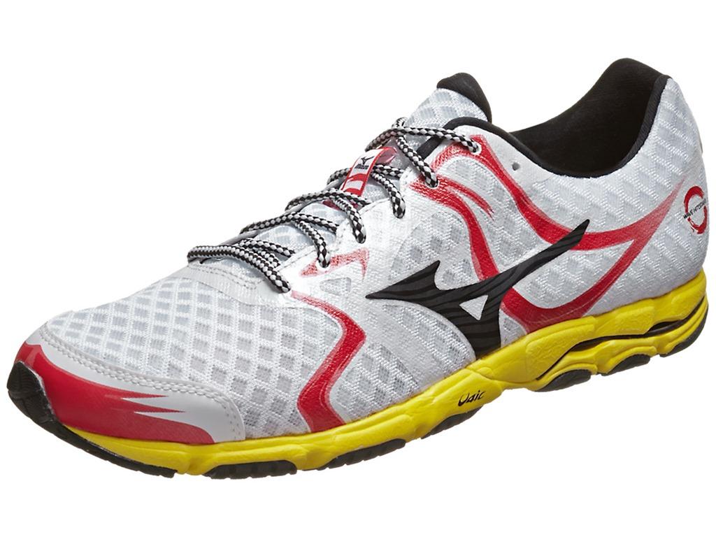 White Mizuno Running Shoes