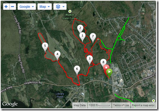 Emerson School Trail Race