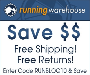 Running Warehouse Runblogger Sidebar