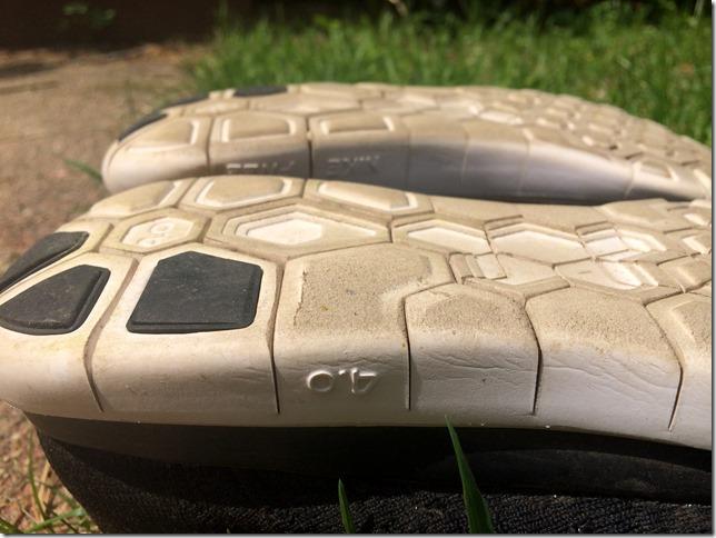 Nike Free 4.0 Flyknit side sole