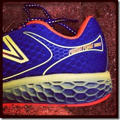 New Balance Fresh Foam 980 heel