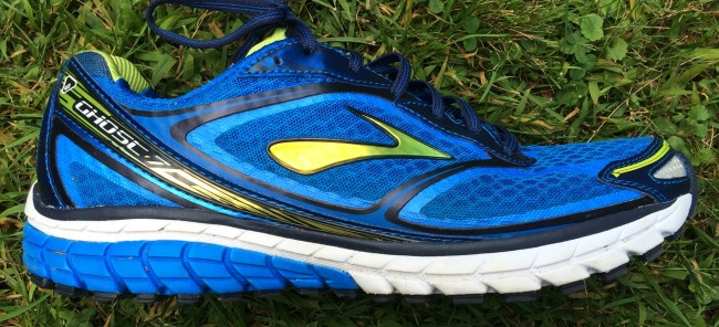 Brooks Ghost 7 Side