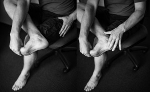 plantar stretching