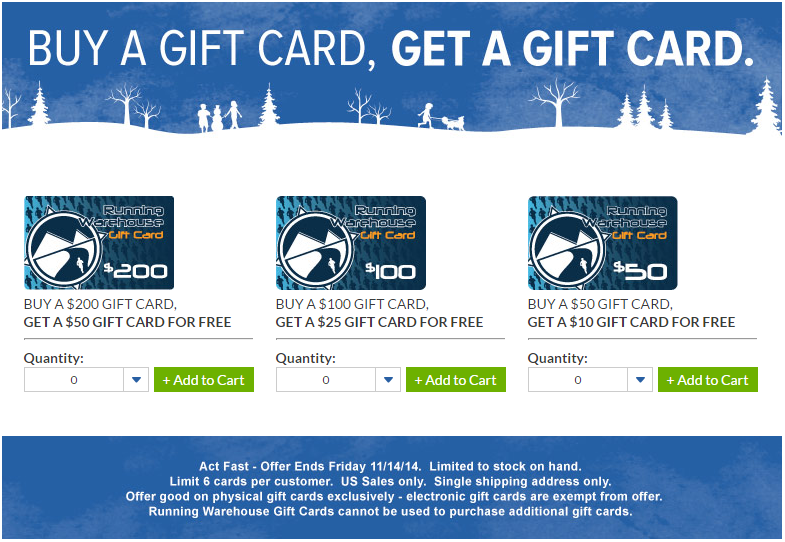 Rw Gift Cards