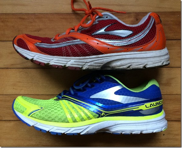 Brooks Launch Compare