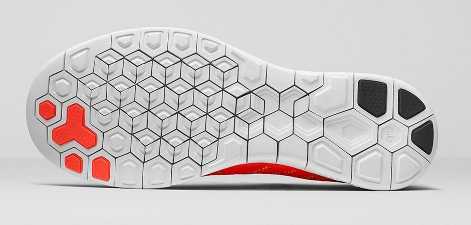 Nike Free 4.0 flyknit sole